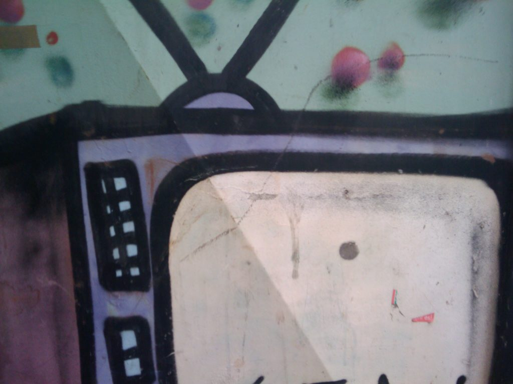 Fernseh-Bildschirm